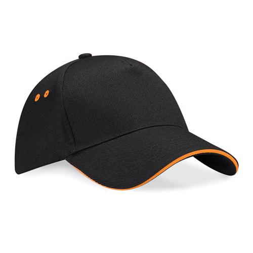 cappellino base bicolore