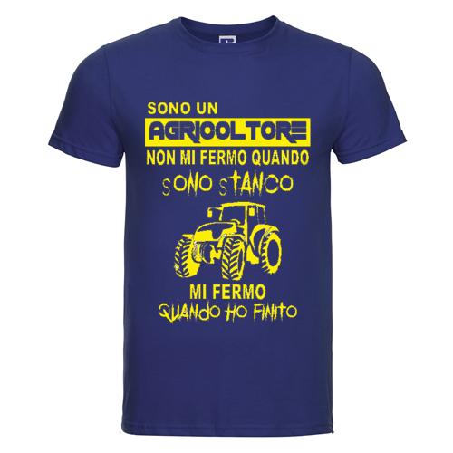 t-shirt personalizzata sono un agricoltore
