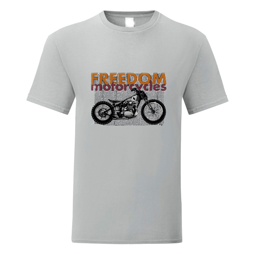 t-shirt personalizzata freedom motorcycles