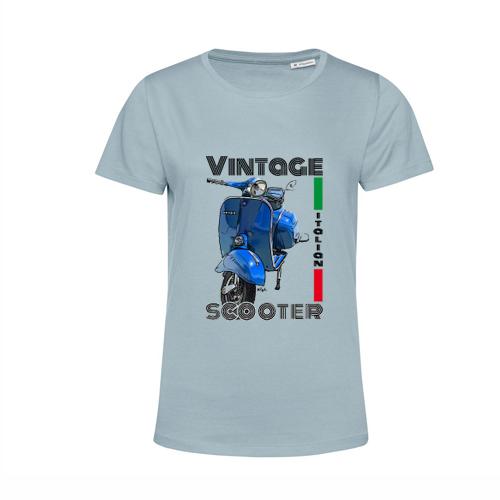 t-shirt personalizzata vespa vintage scooter