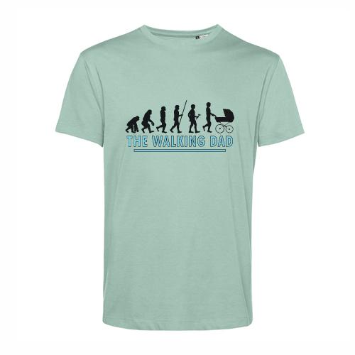 t-shirt personalizzata walking dad evolution