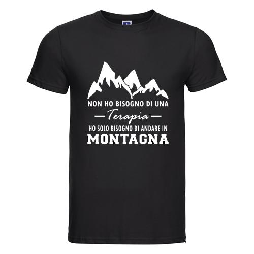 t-shirt personalizzata terapia montagna