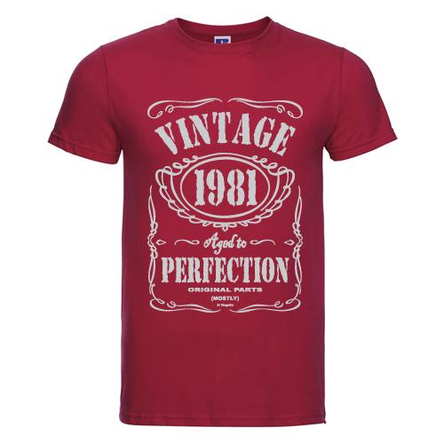 t-shirt personalizzata vintage 1981