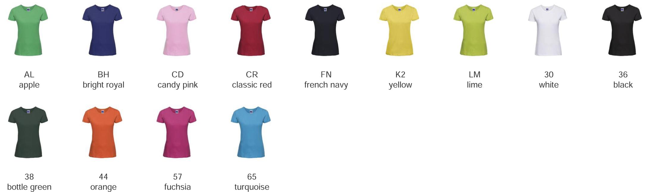 t-shirt 100% cotone personalizzabili