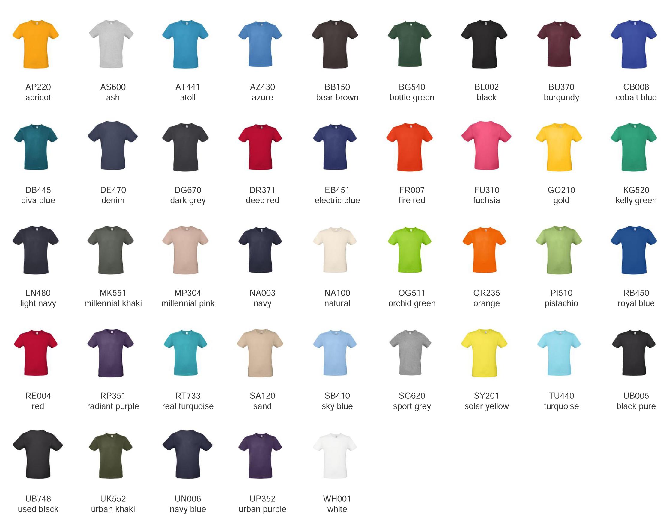 t-shirt 100% cotone personalizzate
